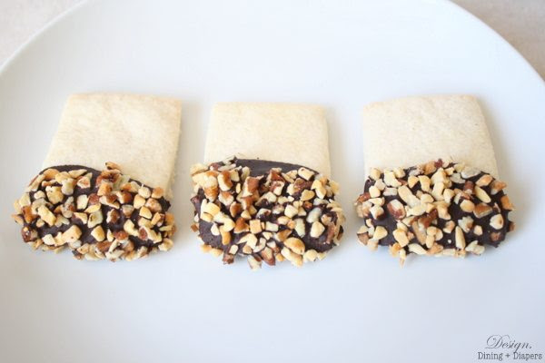 Gluten-Free Chocolate Dipped Shortbread Cookies