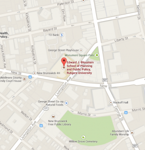 Our Location Edward J Bloustein School Of Planning And