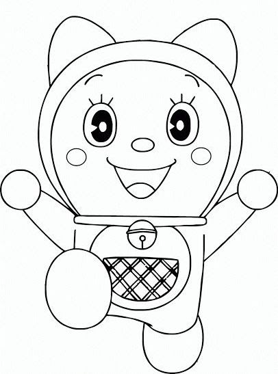 Gambar Mewarnai Nobita Dan Doraemon Auto Electrical Wiring Diagram