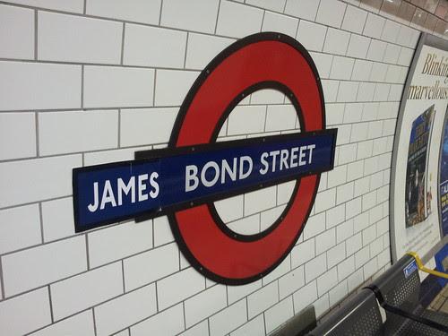 James Bond street by NViktor
