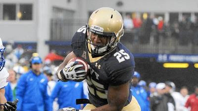 Reynolds accounts for 300 yards of total offense as Navy routs Air Force