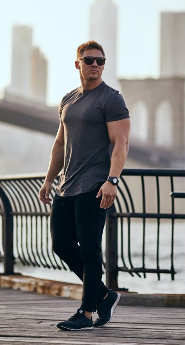 "45 gym outfit ideas for men 2018  life the ""style"" bar"