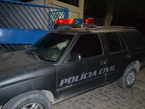 Ângela Garrote foi encaminhada para a Casa de Custódia, no bairro do Jacintinho (Foto: Pedro Mesquita/G1)