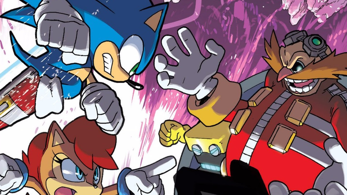 Sega has ended Sonic's 24-year run with Archie Comics screenshot