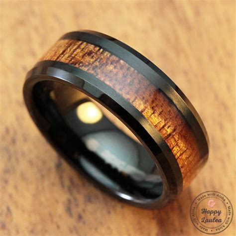 17 Best ideas about Wood Inlay Wedding Band on Pinterest