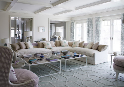 georgianadesign:  English style in the Hamptons. Thorp Design, London. Richard Powers photo.