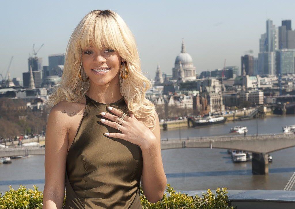 Battleship - Photocall London - March 28, 2012, Rihanna