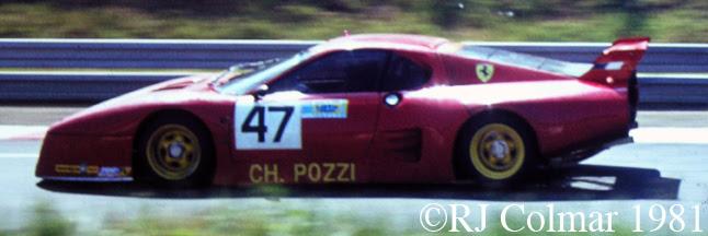 Ferrari 512 BB LM, Le Mans