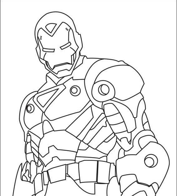 superhelden ausmalbilder ironman  aiquruguay