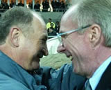 Phil and Sven: Happy together