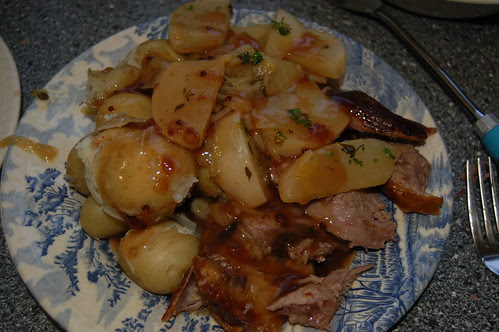roast lamb dinner July 13