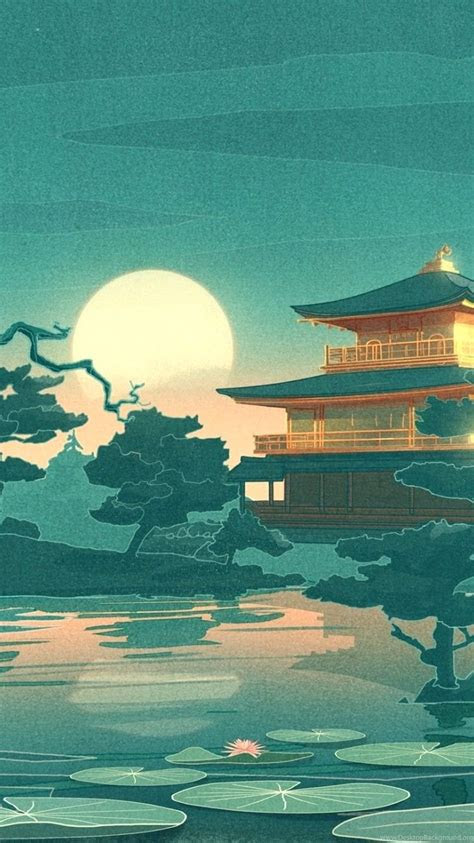 japan art wallpapers wallpaper cave