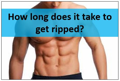 How Long Does It Take To Get Ripped Realistically Gympumpcom