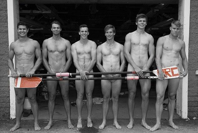 The Mosman Rowers Club boys: Rob Black, Ollie Smith, Sean Murphy, Will Clark, Tom Schramko, Sam Mason