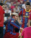 FC Barcelona vs Hercules Match Pics