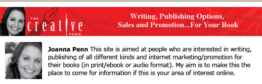 joanna penn self-publishing blogs book marketing