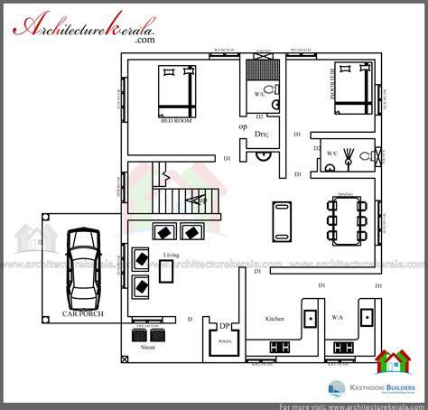 beautiful double floor  bedroom kerala home design