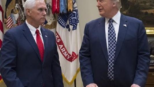 "Dulu Mesra, Kini ""Bromance"" Trump dan Pence di Ujung Tanduk"