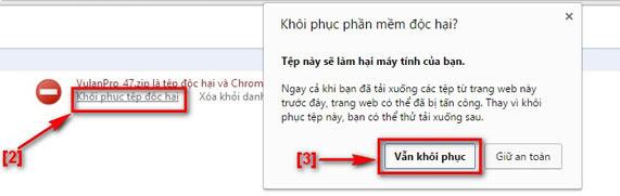 Khắc phục lỗi không tải được Auto khi bị trình duyệt Google Chrome chặn - 4
