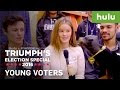 Triumph The Insult Comedy Dog Talks To Politically Correct College Students - Video