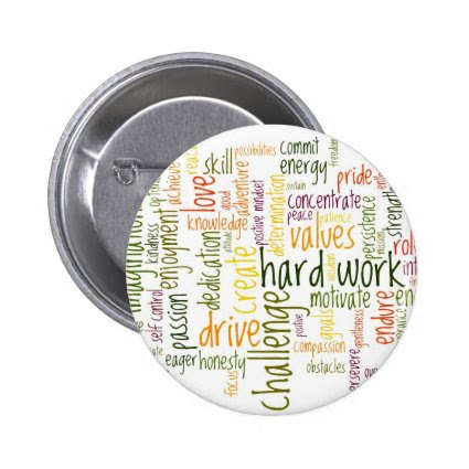 Motivational Words #2 badge / button