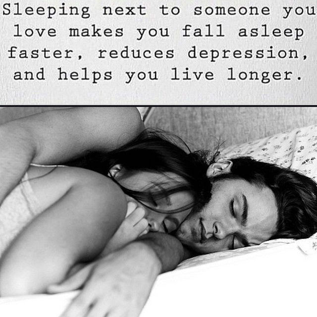 Facts About Sleeping Next To Someone You Love Pictures Photos And