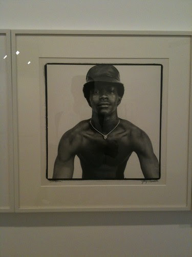 Laurence, George Dureau exhibit, NYC