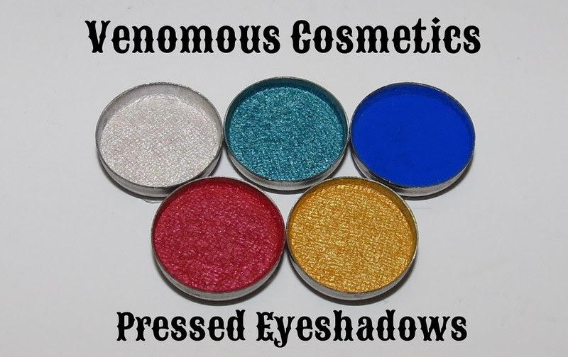 Venomous Cosmetics Pressed Eyeshadows