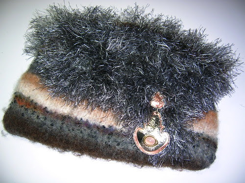 BBBag Felted Clutch