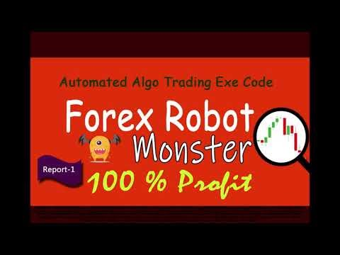 Forex Robot Trading Report  - 1