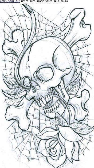 Free Skull Tattoo Stencils Download Free Clip Art Free Clip Art On