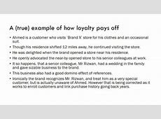 The loyalty loop: how good customer experience pays off