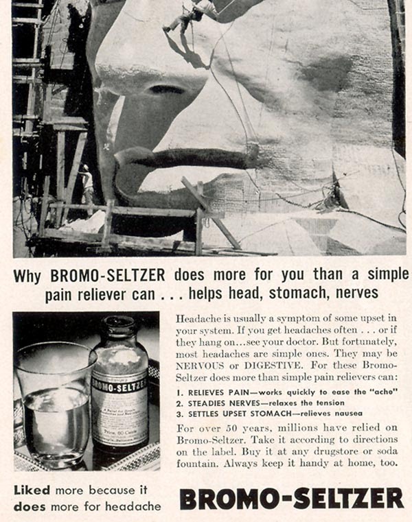BROMO-SELTZER LIFE 09/30/1940 p. 12