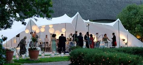 Stretch Tent Unique Outdoor Shade Hacks for Wedding