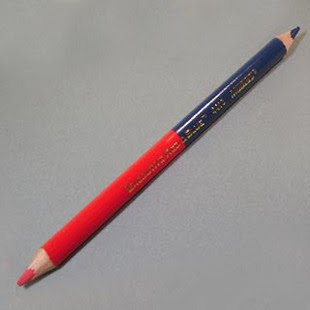 Hasil gambar untuk gambar pensil merah biru