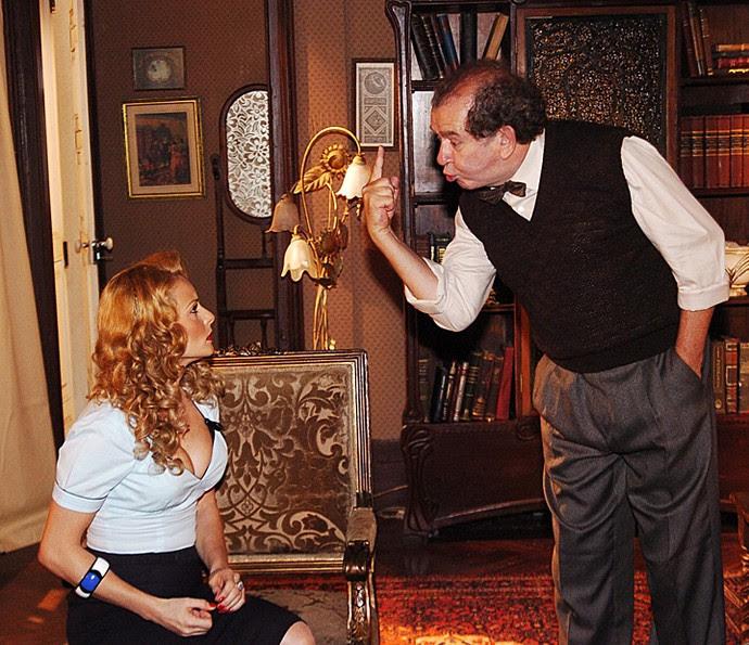 Umberto Magnani em cena como Elias, de 'Alma Gêmea' (Foto: João Miguel Júnior/ Rede Globo)