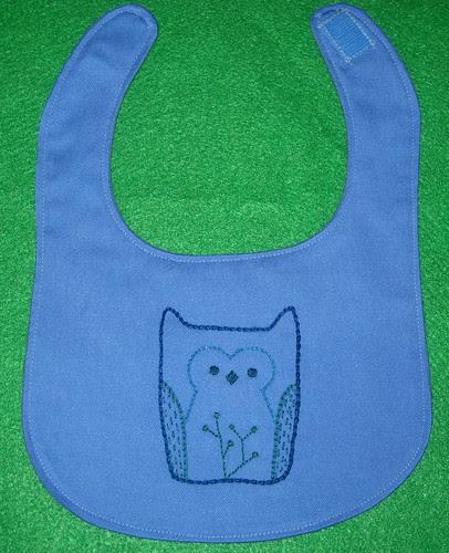 blue owl bib