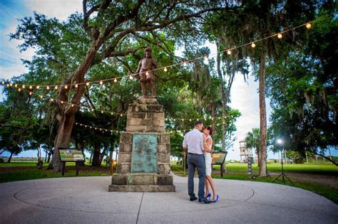Charming Outdoor Wedding at the Fountain of Youth in St