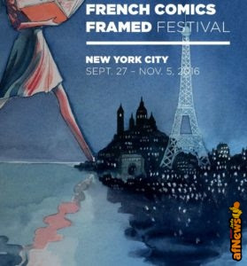 French Comics Framed Festival