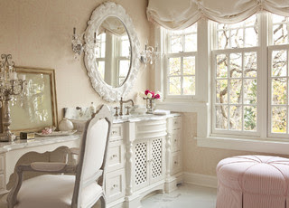 Shabby Chic Your Heart Out traditional bathroom