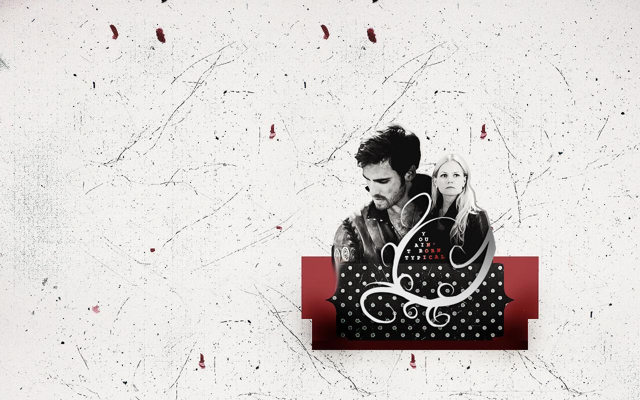 Captain Hook Emma Swan Once Upon A Time Wallpaper 33258957