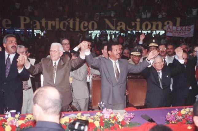 El pacto que selló la suerte del PLD y de Leonel Fernández, en 1996.