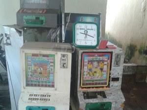 No total, 15 máquinas caça-níqueis foram apreendidas (Foto: Divulgação/Polícia Civil de Alenquer)
