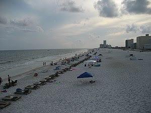 Gulf Shores, Alabama. Beach.