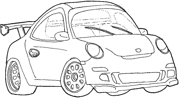 Dibujos Para Autos Deportivos Imagui