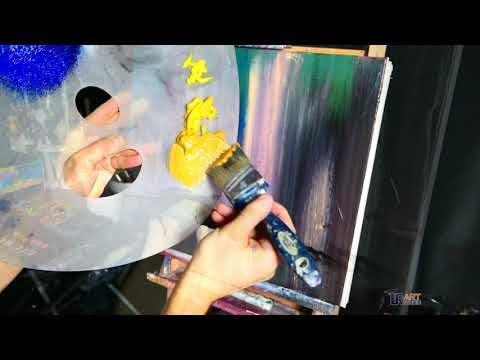 Original Painting Stairway to Bliss