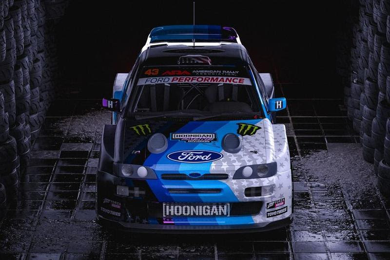 Ken Block Presents His New Ford Escort Ahead Of His World Tour Top Speed