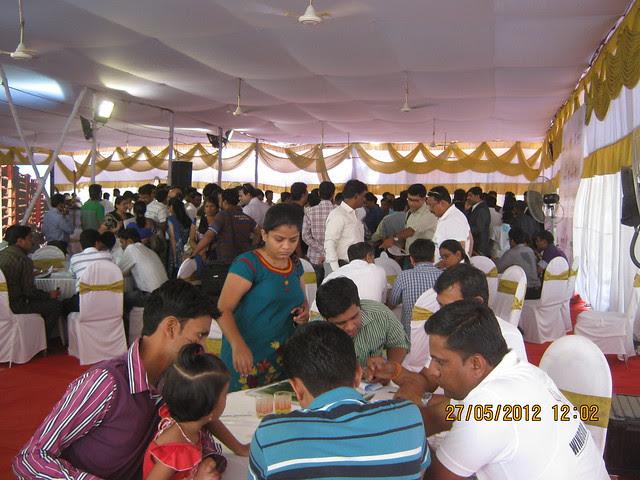 Property buyers at the launch - Visit Windsor County, 1 BHK 2 BHK & 3 BHK Flats near Reelicon Garden Grove, Datta Nagar, Ambegaon Budruk, Pune 411046