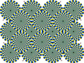 Irrational Thoughts optical illusion