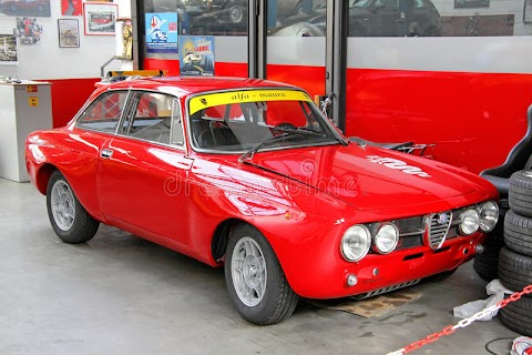 Italian Sports Car Alfa Romeo